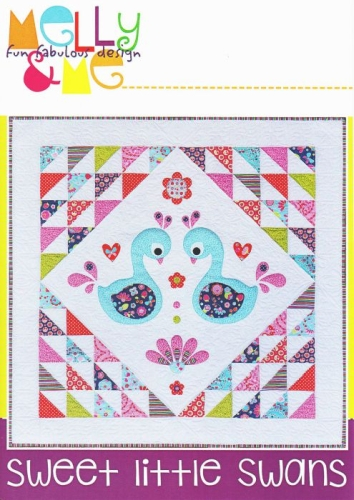 Melly & Me - Flutterberry - Sweet Little Swans Quilt Pattern